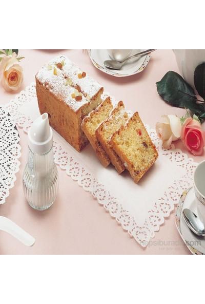 Zenker Kek Örtüsü Beyaz Kağıt 39X20 Cm 12 Adet