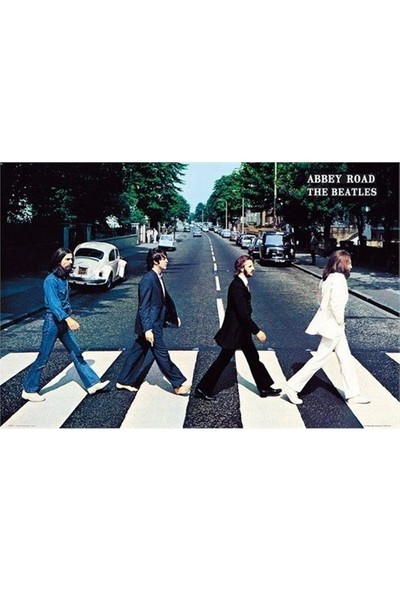 Maxi Poster - The Beatles Abbey Road