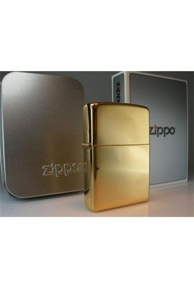 Zippo High Polish Brass 254B