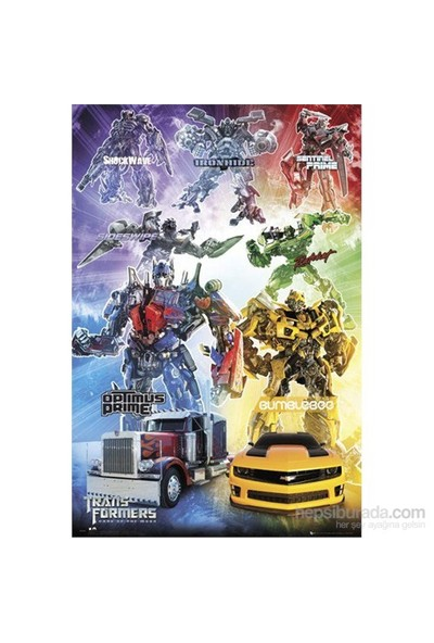 Transformers Characters Maxi Poster
