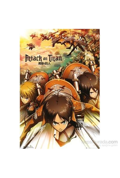 Attack On Titan Attack Maxi Poster