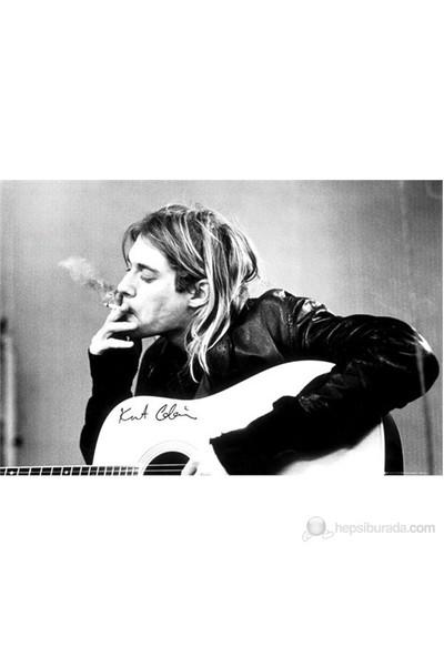 Kurt Cobain Smoking Maxi Poster