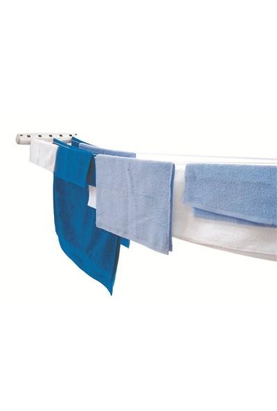 As-çek Mat Pratik Balkon & Banyo Çamaşır Askısı