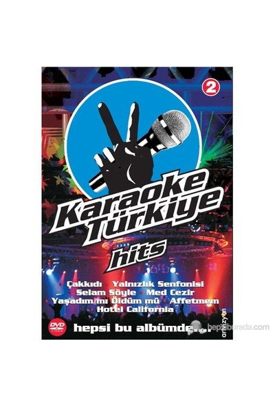 Karaoke Türkiye Hits - Karaoke Türkiye Hits 2 (Mikrofon Hediyeli)