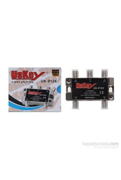 Uskey Uk-9124 Full Hd 5-2400 Mhz Splitter