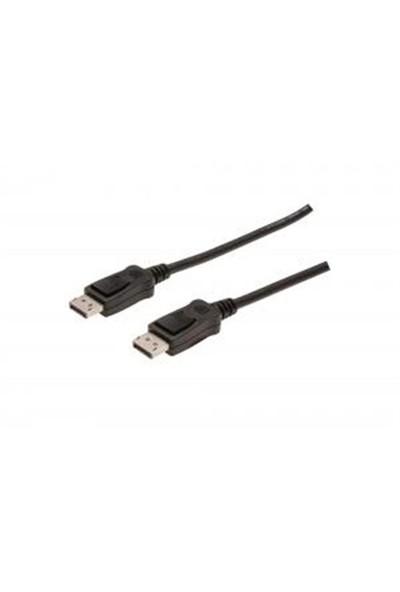 Digitus DP to DP DisplayPort Bağlantı Kablosu 2m Kilit Mekanizma (AK-340100-020-S)