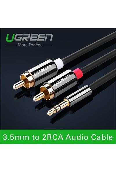 Ugreen RCA 3.5mm AUX Ses Kablosu 2 Metre