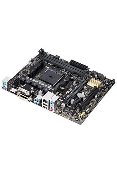 Asus A68HM-PLUS Amd A68H 2400MHz(O.C.) DDR3 Soket FM2+ mATX Anakart