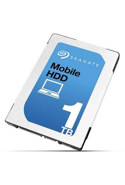 """Seagate Mobile 1TB 2.5"""" 5400RPM Sata3 128MB Cache Notebook Disk ST1000LM035"""