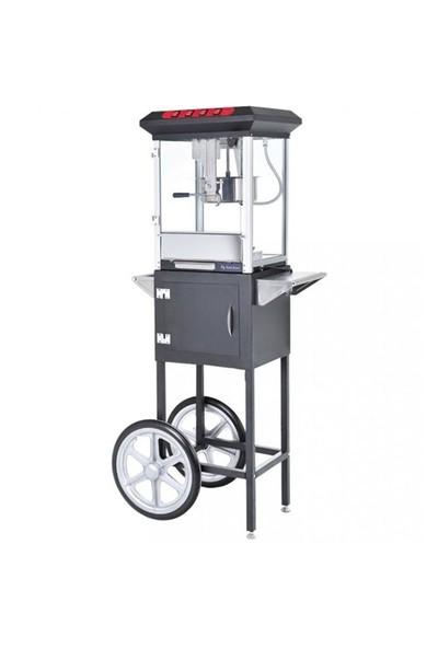 Bykitchen Arabalı Popkorn Makinesi