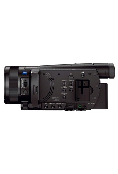 Sony Fdr-Ax100e 4K Ultra Hd Video Kamera ( Sony Eurasia Garantili )