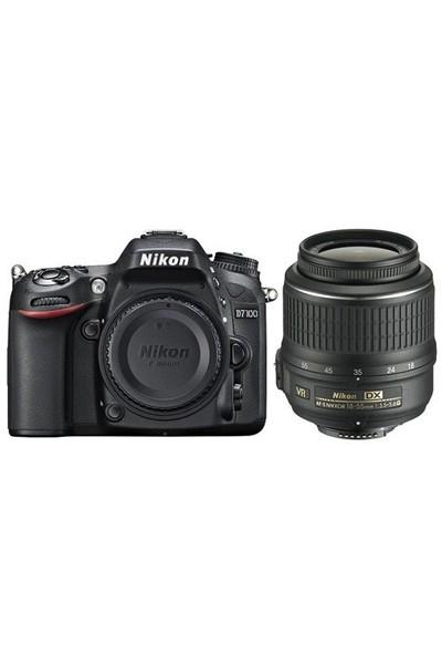 Nikon D7100 + 18-55 Vr + Çanta + 16 Gb Hafıza Kartı
