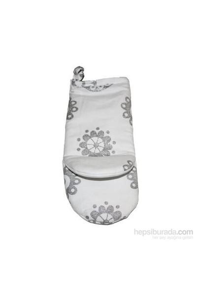 Yastıkminder Gümüş Halka Desenli Mutfak Eldiveni