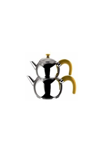 Emsan Tombo Çaydanlık Takımı - Gold