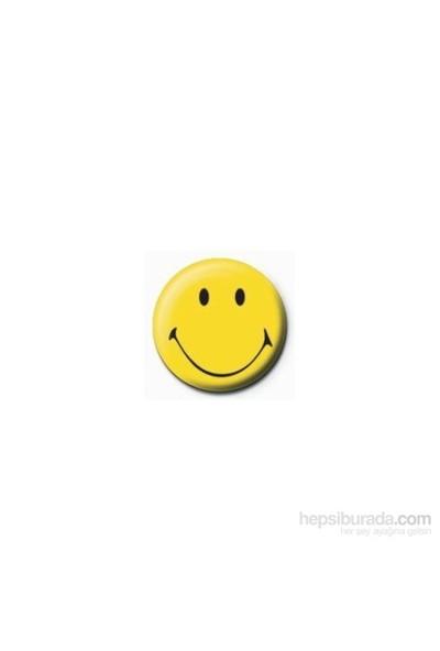 Rozet - Smiley