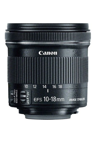 Canon EF-S 10-18MM F4.5-5.6 IS STM Objektif