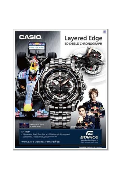 Casio EF-550D-1AVUDF Edifice Erkek Kol Saati