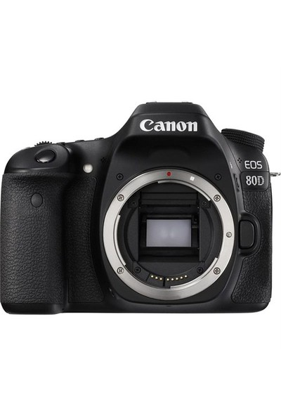Canon Eos 80D + 18-55 Lens + Hafıza Kartı + Çanta