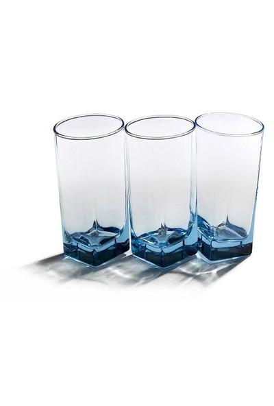 Paşabahçe Carre Bardak 6'Li Set Mavi