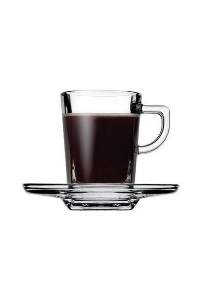 Paşabahçe 6'lı Carre Espresso Fincan Takımı