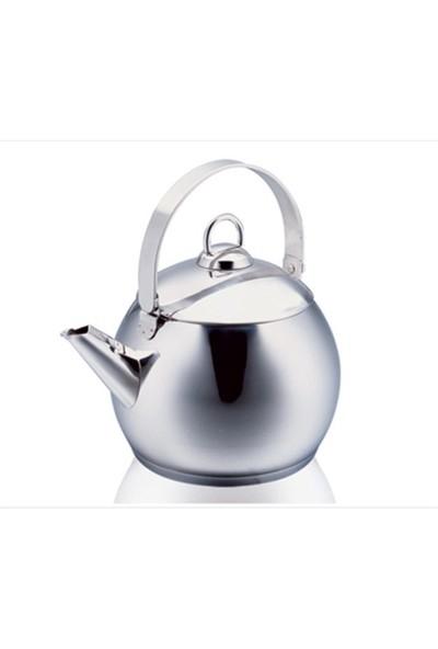 Korkmaz A 093 Tombik Çaydanlık Paslanmaz Çelik
