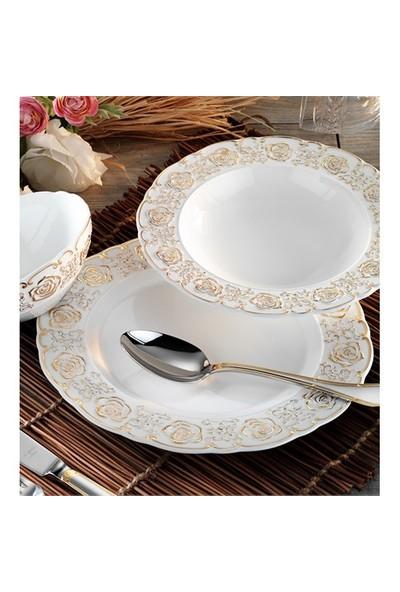 Aryıldız Ar60005 Porselen 84 Parça 12 Kişilik Yemek Takımı