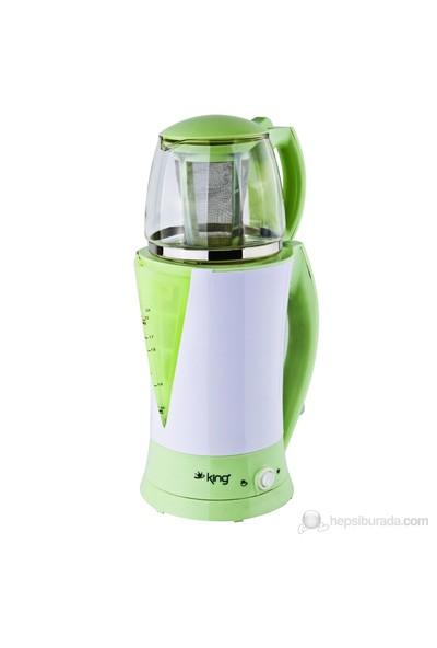King K-8200 Tea World Demlikli Çay Makinesi
