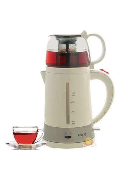 King K-8286 Jasmine Demlikli Çay Makinesi