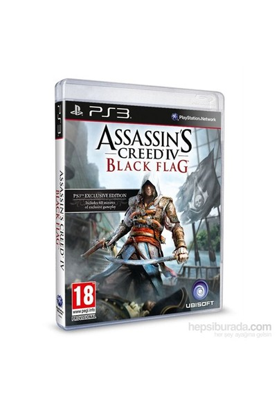 Assassins Creed IV Black Flag PS3 Standart Edition