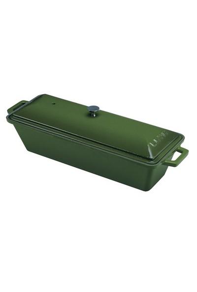 Lava Ekmek Kabı Terrine Yeşil