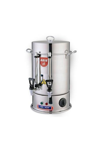 Reis R24-120 Bardak Çelik Çay Makinesi (Çelik Musluk)