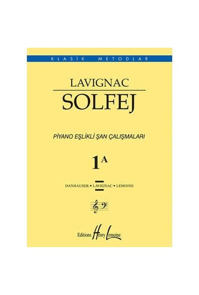 İmecemuzik Klasik Metodlar Lavignac 1A Piyano Eşlikli