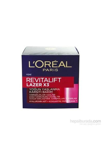 L'Oréal Paris Revıtalift Lazer X3 Yaşlanma Karşıtı Gündüz Bakım Kremi 50 Ml