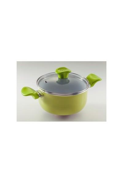 Tefal Ceramic Pastel Yeşil Tencere 20
