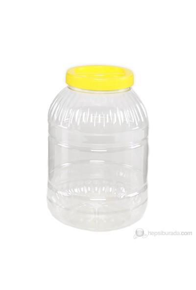 Plastik Pet Kavanoz 5 lt