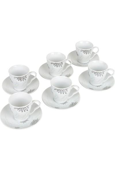 T-Design Marıa 12Prç Porselen Fincan Takımı