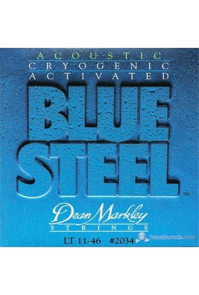 Dean Markley Blue Steel Acoustic - Lt Akustik Gitar Telleri