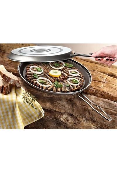 Cem Pratiko İkiz Börek/Balık Tavası 32 Cm