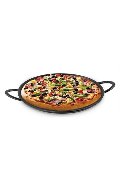 Sürel Pizza tavası - Çap(Ø)30 Cm - Mat Siyah
