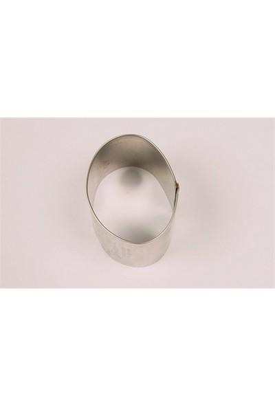 Patisse Yumurta 6 Cm Kurabiye Kalıbı İnox