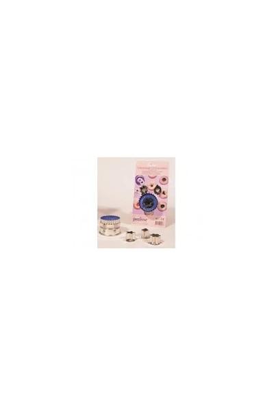 Patisse Yıldız , Çiçek, Prizma Kurabiye Kesici (3'Lü Set)