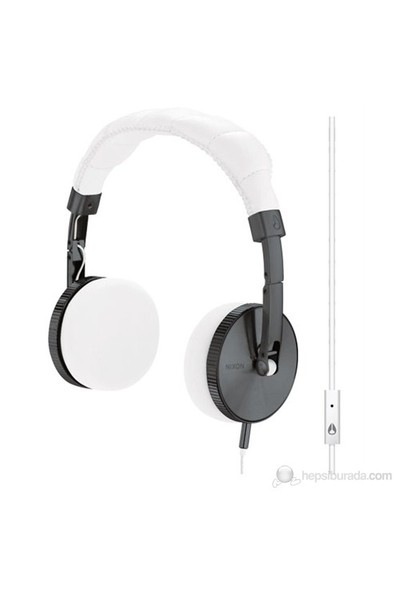 Nixon Nomadıc Mıc Headphones Gunmetal/Whıte Kulak Üstü Kulaklık