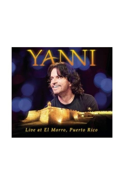 Yanni -Live At El Morro, Puerto Rico CD & DVD