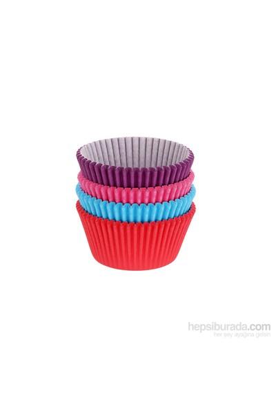 Tantitoni Düz Renkler Cupcake Pişirme Kağıdı Seti - 100'Lü