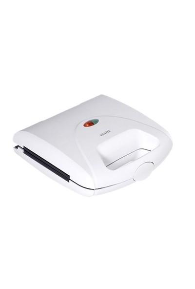 Vestel V-Brunch Serisi 1000 Beyaz Mini Tost Makinesi
