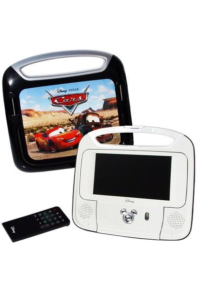 Disney Portatif Dvd Player (Çift - Lcd Ekran) 18 cm