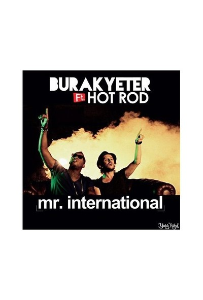 Burak Yeter - feat. Hot Rod / Mr. International (Plak)