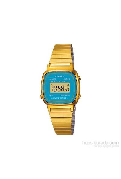 Casio LA670WGA-2DF Digital Kadın Kol Saati