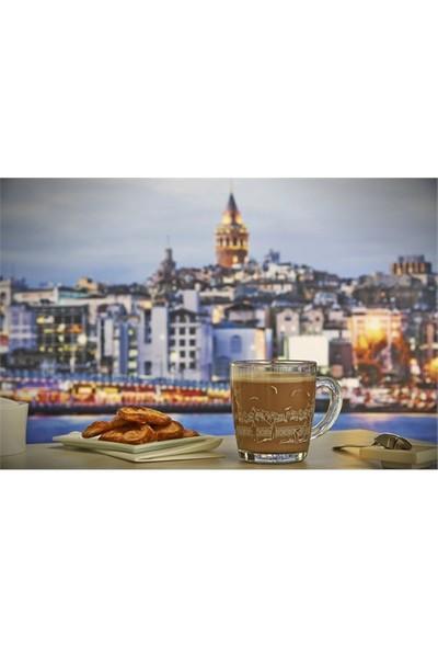 Paşabahçe Meet Me In Istanbul Galata Balıkçıları Kulplu Bardak 4'Lü
