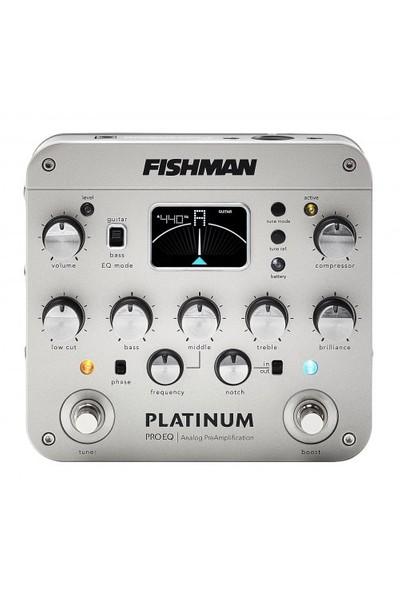 Fishman Platinum Pro EQ/DI Analog Preamp Pedalı